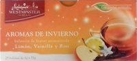Infusión de frutas aromatizada Aromas de Invierno - Producto