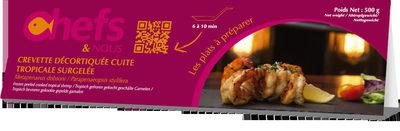Crevette décortiquée cuite tropicale surgelée - Product - fr