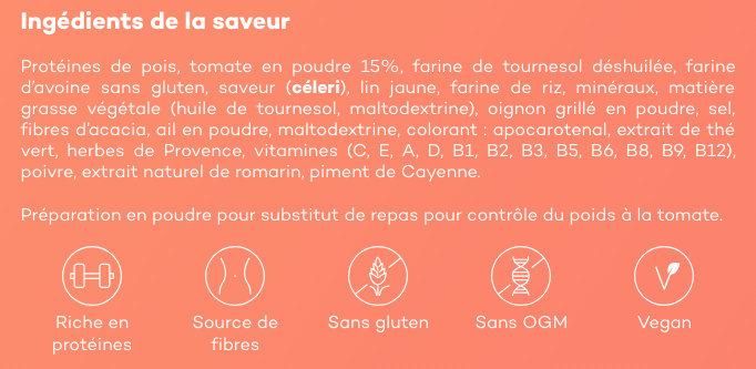 Velouté de Tomates - Ingrediënten - fr