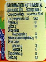 Nestle Agüitas Mango - Nutrition facts