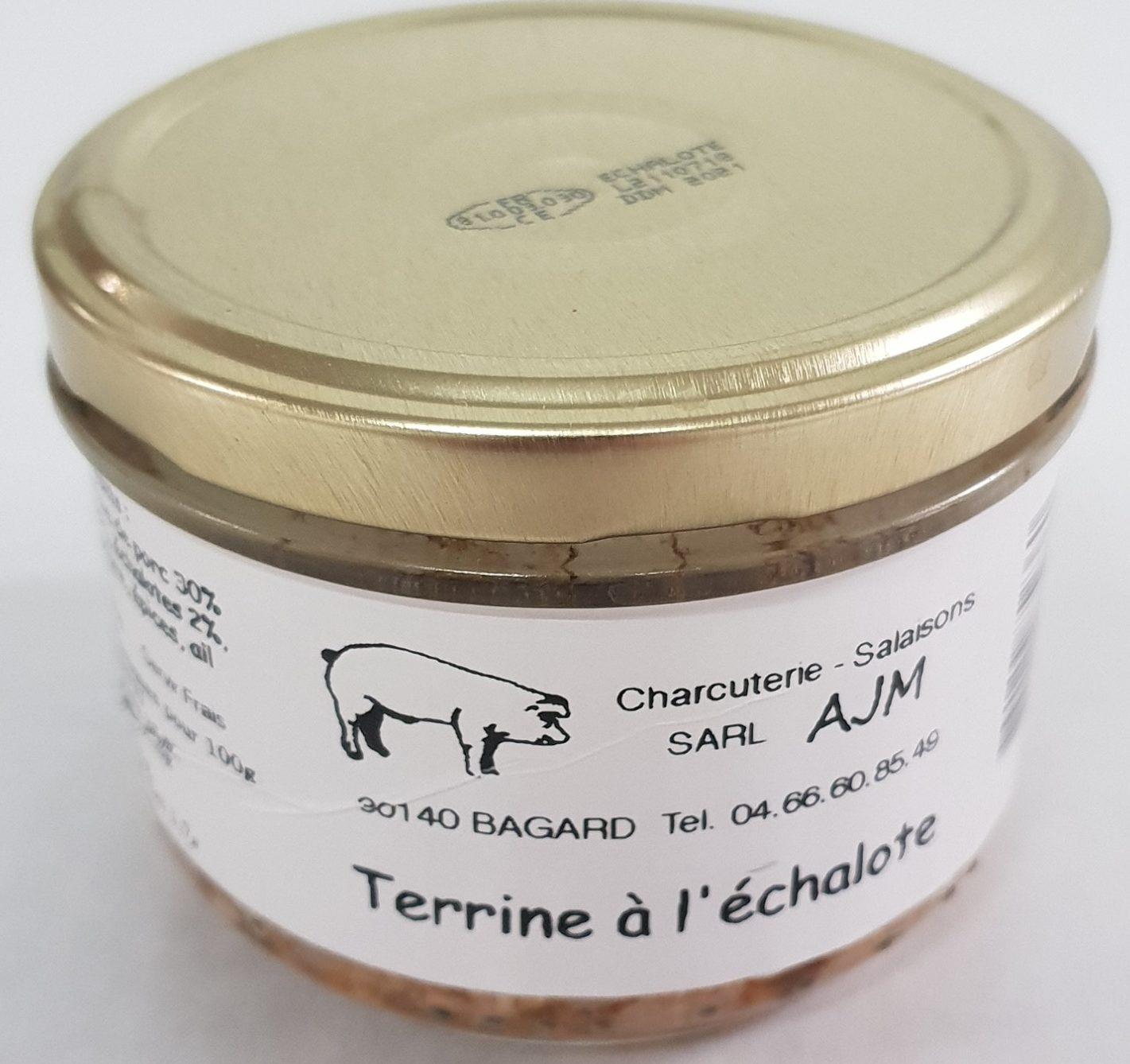 TERRINE A L'ECHALOTE - Product