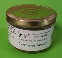 Terrine de Sanglier - Product - fr