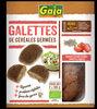 Galettes de haricots blancs germés, tomate et basilic - Produit