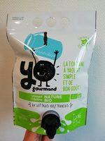 Yaourt à boire nature BIO YOgourmand - Product