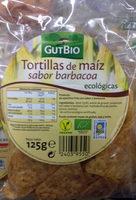 Tortillas de maíz sabor barbacoa - Producto - es