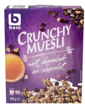 BONI (COLRUYT) Crunchy muesli au chocolat - Product - fr