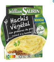 Hachis végétal aux protéines de pois cuisiné à la tomate - Produit - fr