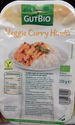 Veggie Curry Hindú - Producte
