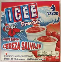 ICEE FREEZE NIEVE SABOR CEREZA SALVAJE - Product