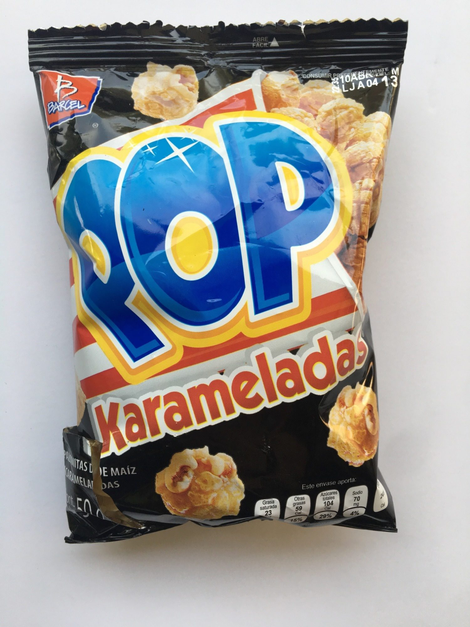 Pop Karameladas - Produit