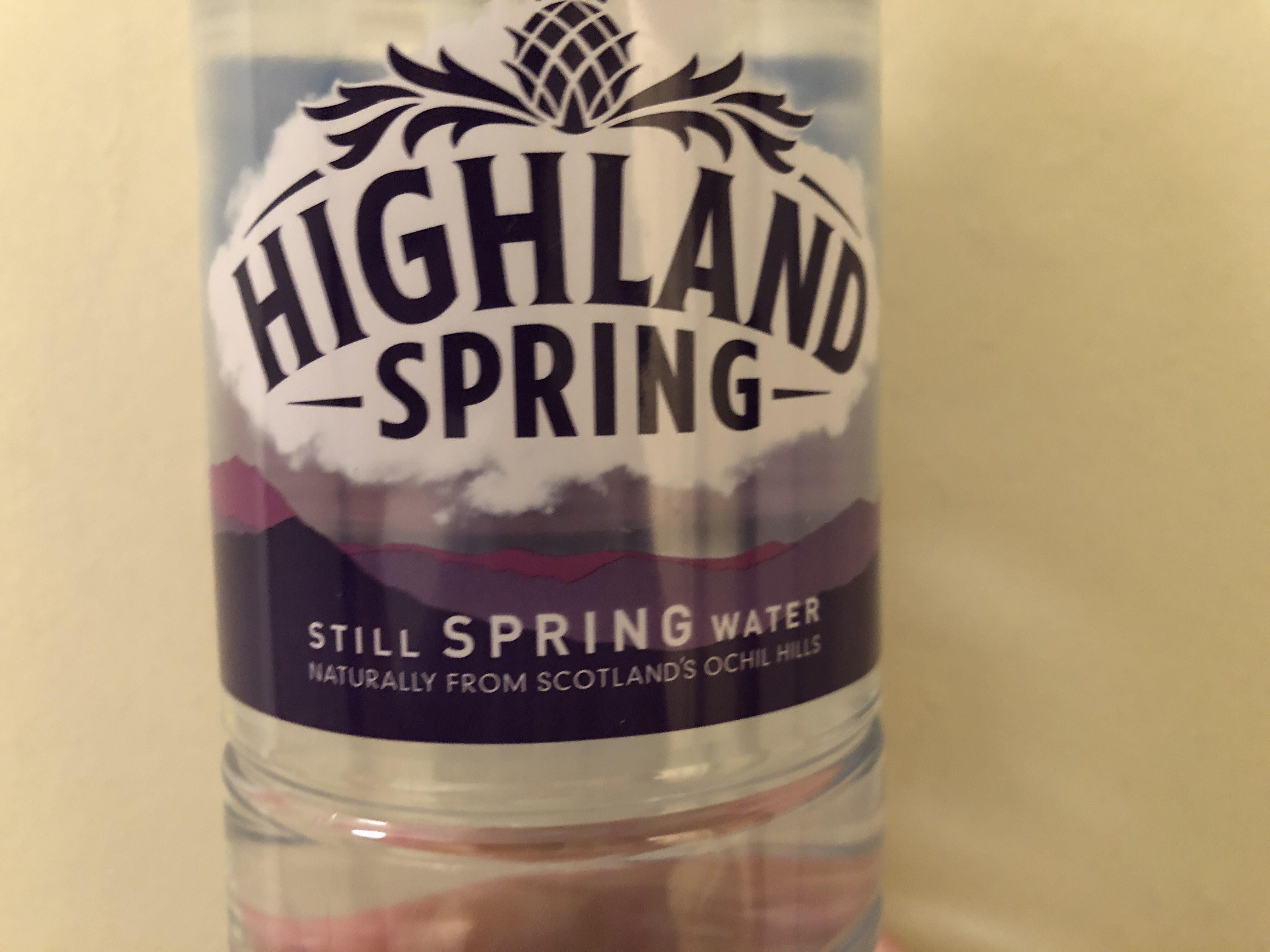 Highland spring still spring water - Product
