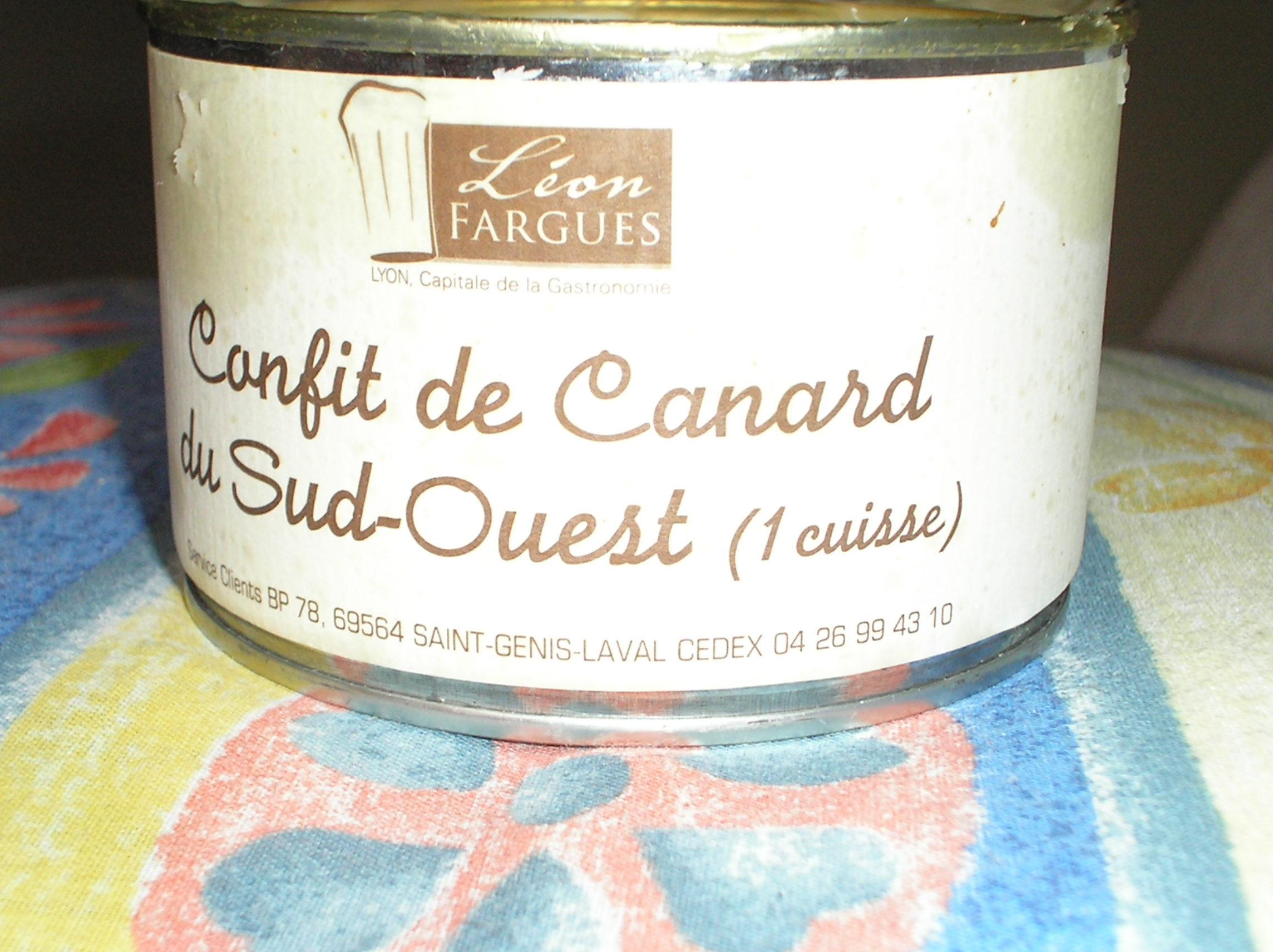 Confit de Canard su Sud-Ouest - Product
