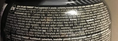 OLIMP SPORT NUTRITION BCAA Xplode Fruit Punch 500 g - Ingrédients