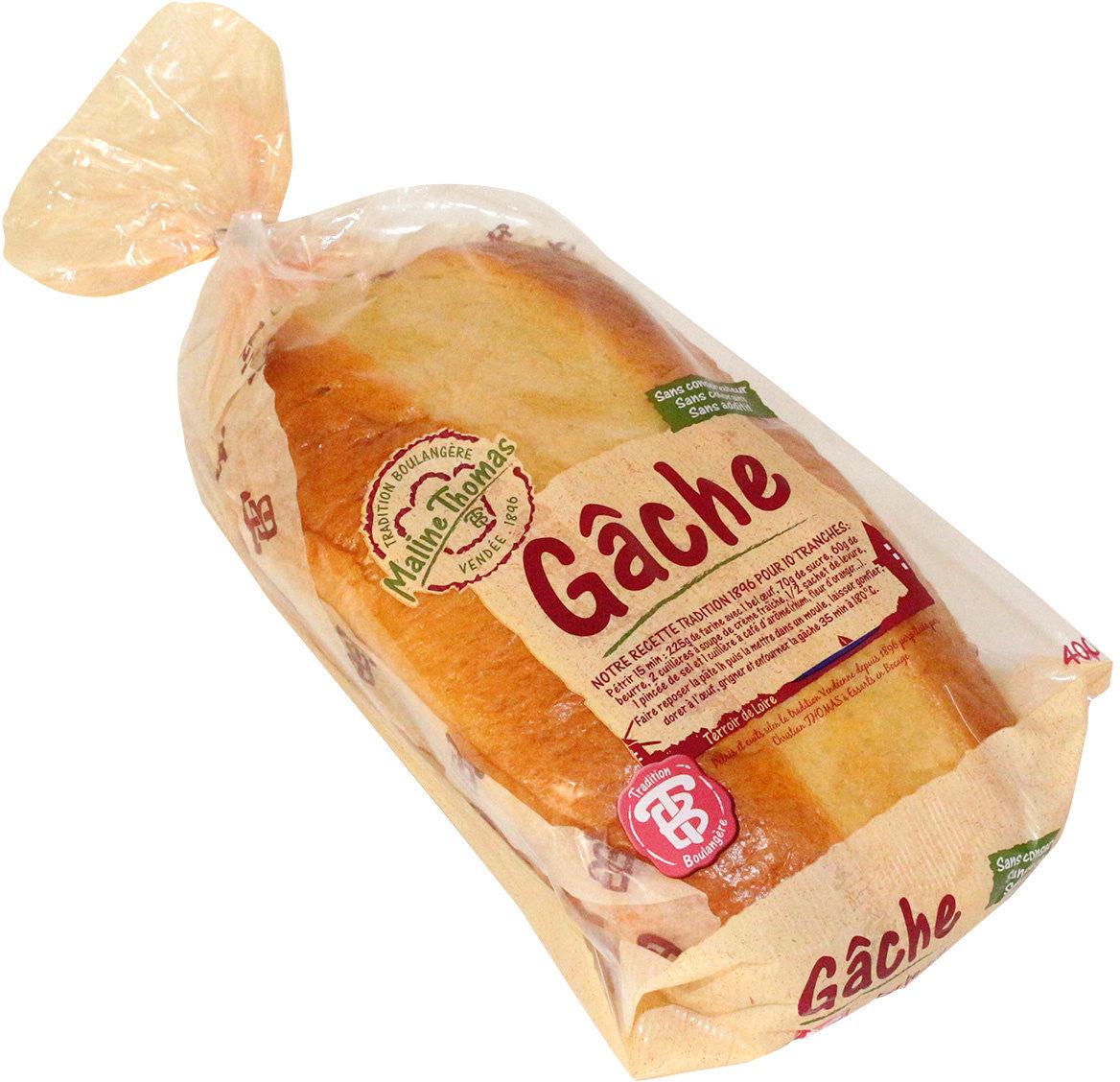 GACHE PUR BEURRE ET A LA CREME FRAICHE - Product - fr