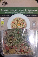 Arroz Integral con trigueros - Producte