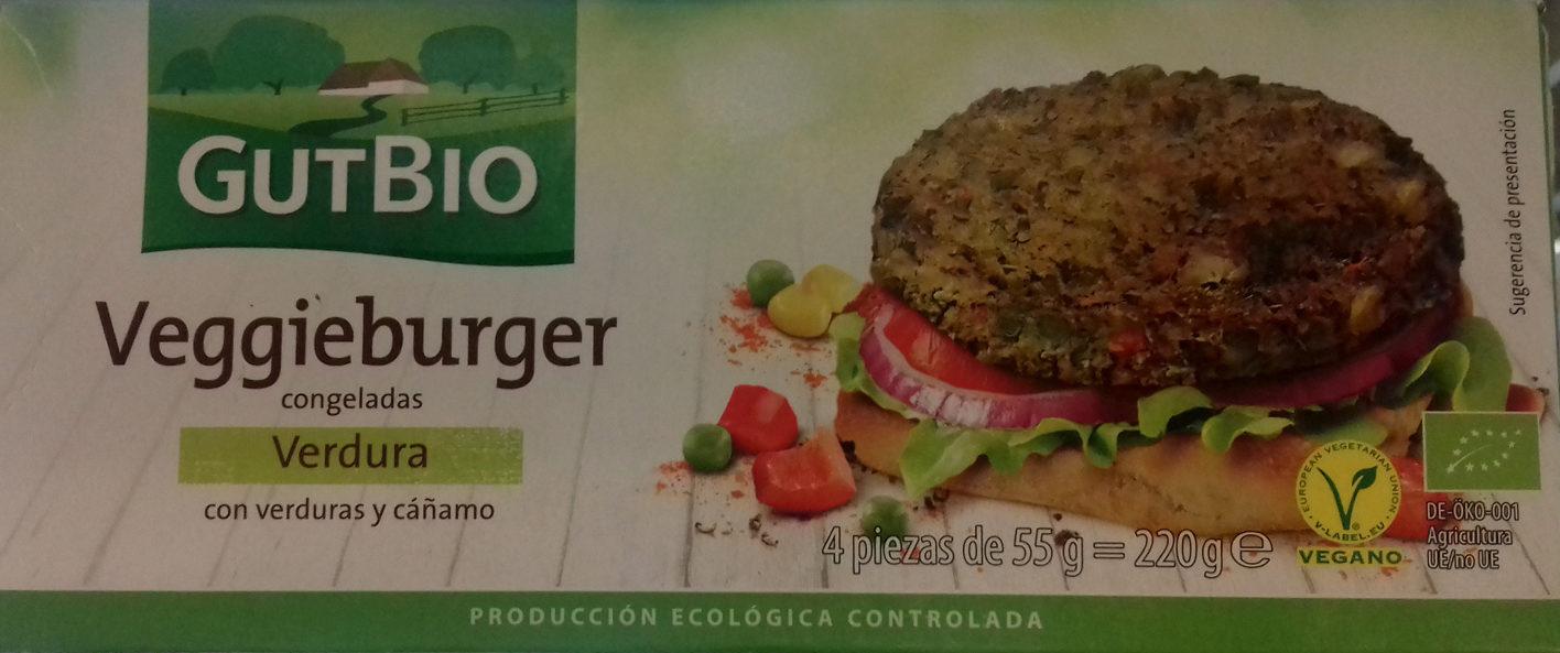 Veggieburger congeladas Verdura - Producto