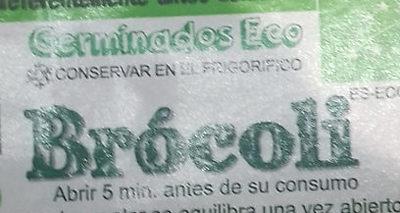 Germinados Eco Brócoli - Ingrédients