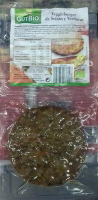 Veggieburger de Seitán y Verduras - Producte - es