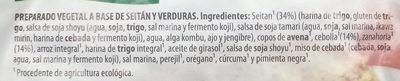 Veggieburger de Seitán y Verduras - Ingredients - es