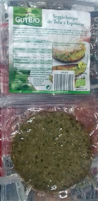 Veggieburger de Tofu y Espinacas - Producte