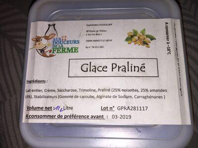 Glace praliné - Ingredients - fr