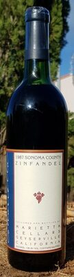 Sonoma County 1987 Zinfandel - Product