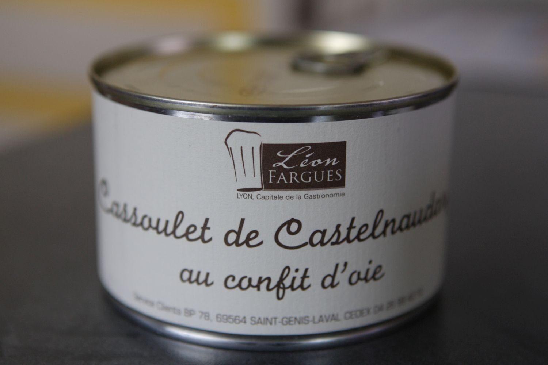 Cassoulet de Castelnaudary au confit d'oie - Produit - fr