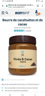 Pinda & cacao - Product - fr