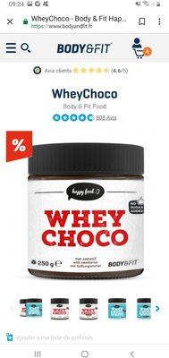 Whey choco - Product - en