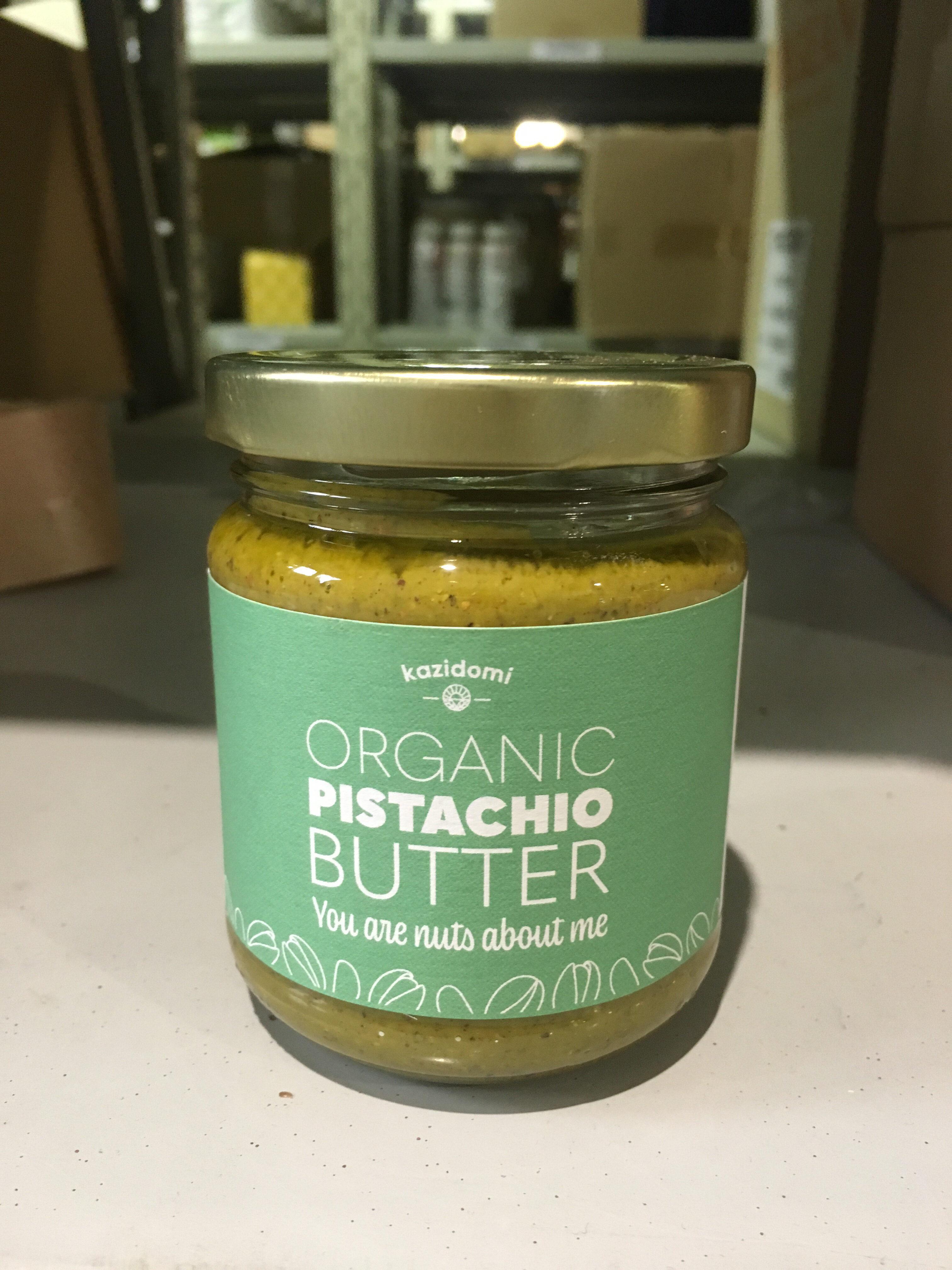 Organic pistachio butter - Product - en