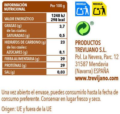 Boletus - Información nutricional - es