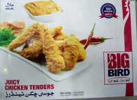 Juicy chicken Tenders - Product - en