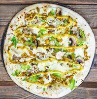 Pizza Curry folie - Produit - fr