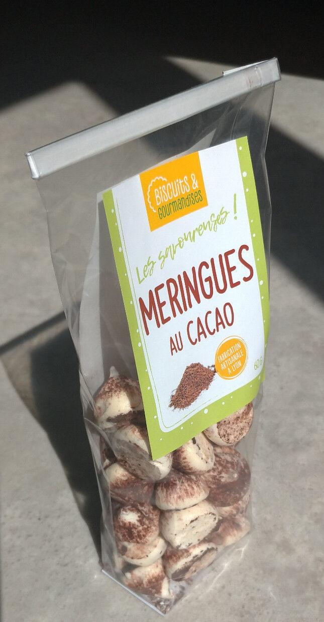 Les savoureuses meringues au cacao - Produit - fr