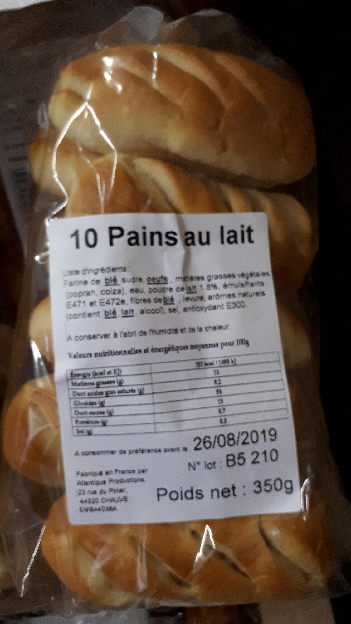 Pains au lait - Product