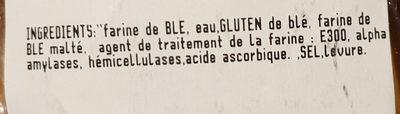 Déjeunette 4 - Ingredienti - fr