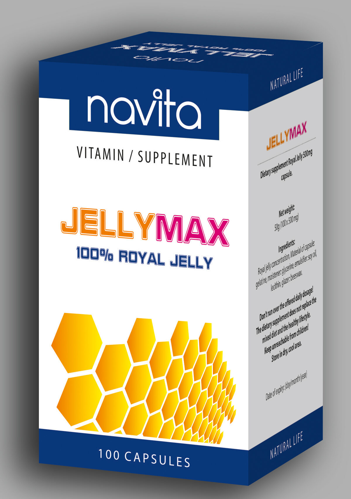JELLYMAX 100% ROYAL JELLY - Product