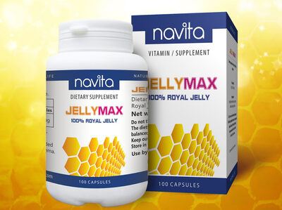 JELLYMAX 100% ROYAL JELLY - Product - en
