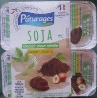 Soja Chocolat saveur noisette Dessert végétal - Product - fr
