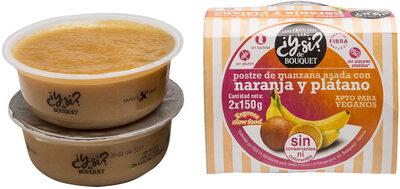 Postre de Manzana Asada con Naranja y Plátano - Product - es
