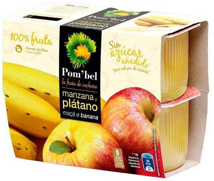 Compota de manzana y plátano - Product