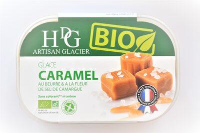 Glace CARAMEL BIO - Produit