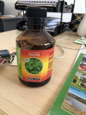 Eau florale romba - Informations nutritionnelles