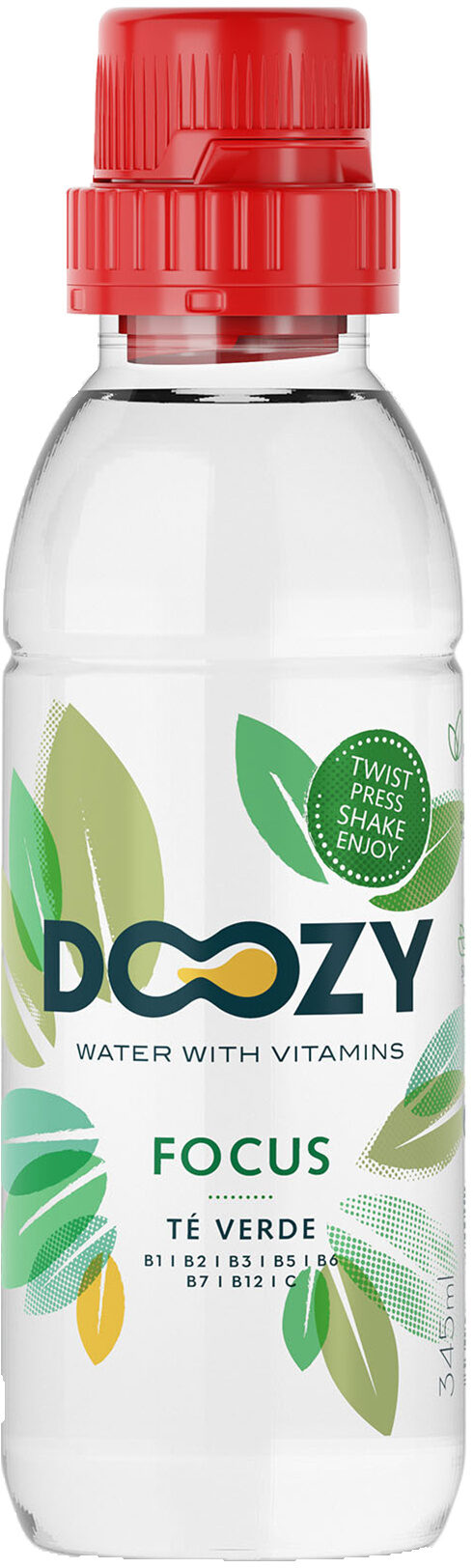 Doozy water with vitamins Focus - Producto