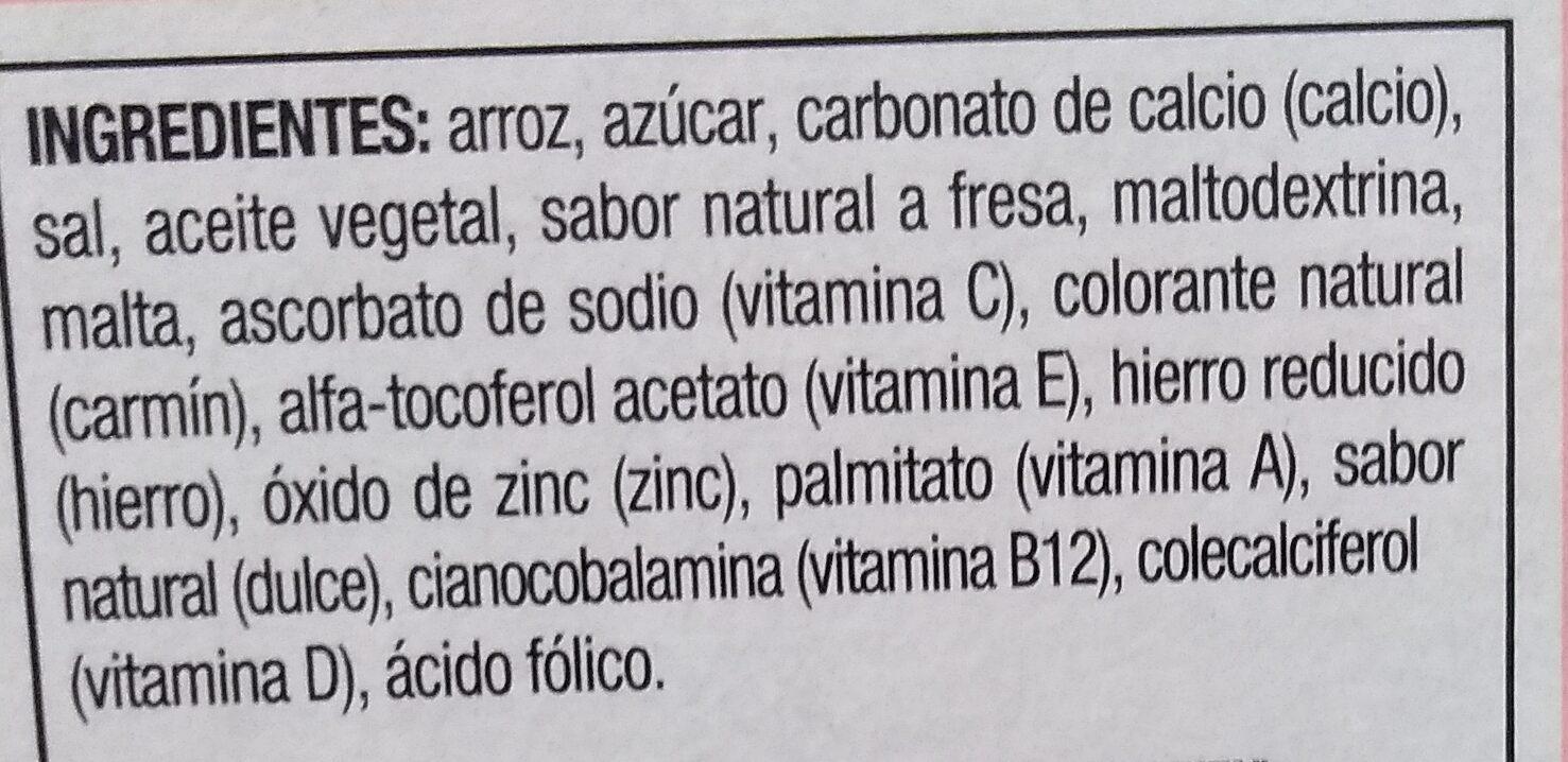 Fresi Krispis - Ingredients