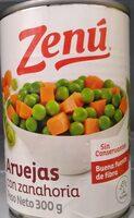 Arvejas con zanahoria - Produit