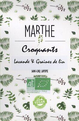 Croquants, lavande & graines de lin - Product - fr
