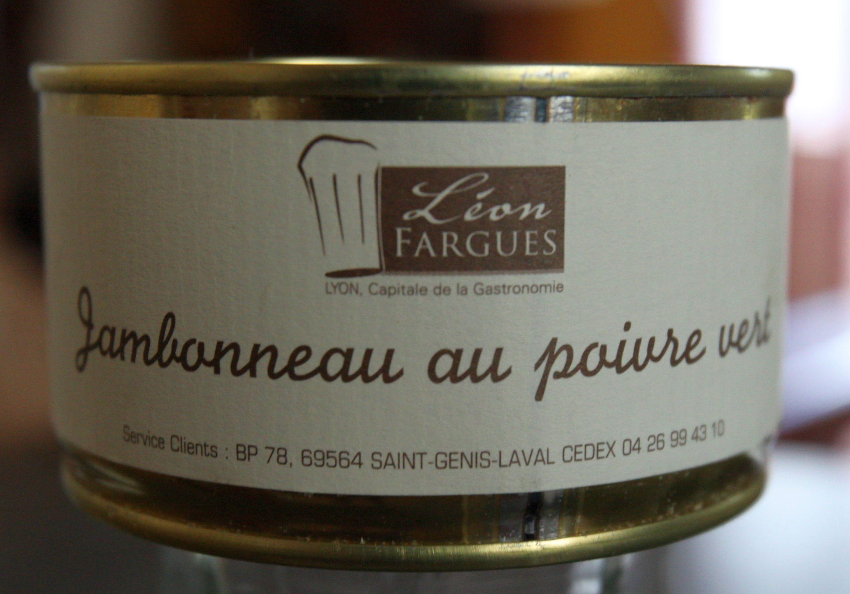 Jambonneau au poivre vert - Produit - fr