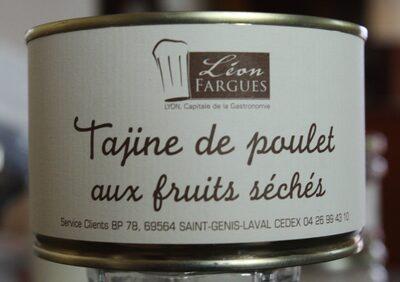 Tajine de poulet aux fruits séchés - Product - fr