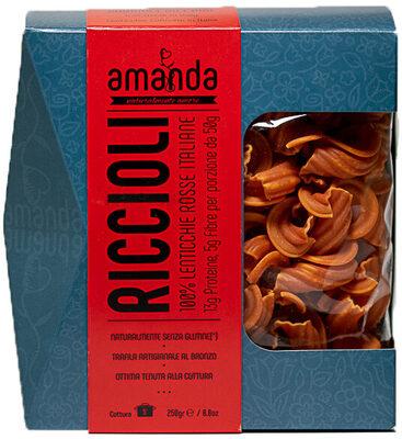 Riccioli di Lenticchie Rosse - Product - it